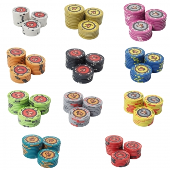 Keramik Pokerchips 10,5g 39,3mm Fire-Spades